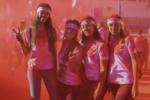 ¿Has corrido la Color Run? ¡Búscate aquí!