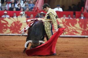 Imágenes de la histórica corrida de hermandad entre México y España
