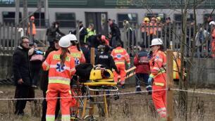 En imágenes, el accidente de un tren en Italia deja tres muertos y más de cien heridos