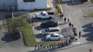 En imágenes, el tiroteo que le costó la vida a 17 personas en un instituto de Florida