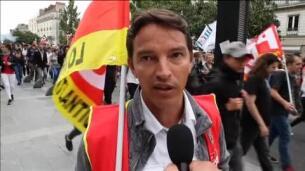 Las protestas contra la reforma laboral se encrudecen en Francia