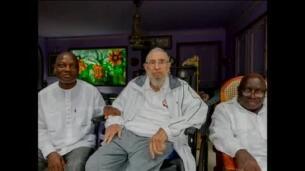 Fidel Castro se reúne en La Habana con el presidente de Guinea-Bissau