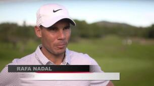 Rafa Nadal se pasa al golf para jugar un torneo solidario
