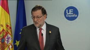 Rajoy pide a la Generalitat