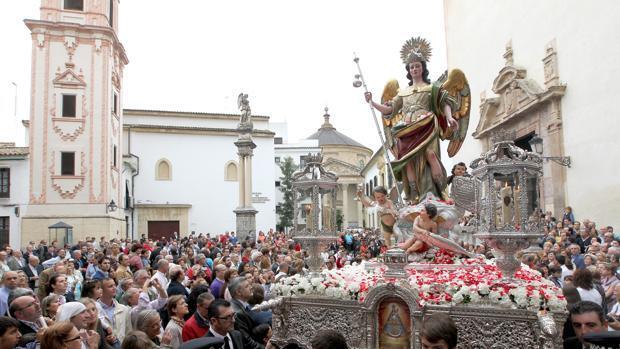 La última procesión de San Rafael de Córdoba