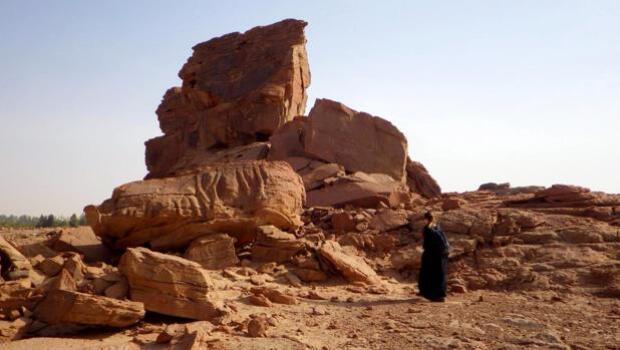 Descubren un conjunto de misteriosas esculturas de dromedarios en el desierto de Arabia Saudí
