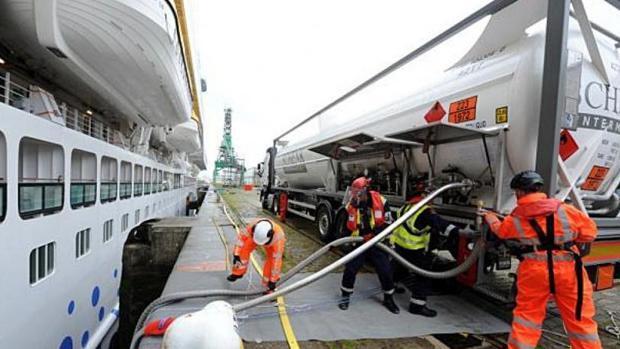 Aida programa su primer crucero impulsado por gas a Canarias para diciembre de 2018