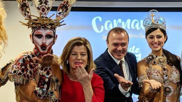 El PSOE de Las Palmas lleva a Fitur a la «draq queen» acusada por la Iglesia de «blasfema» en el carnaval