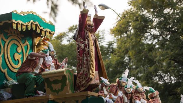 El «#gasparazo» del Rey Gaspar en Sevilla