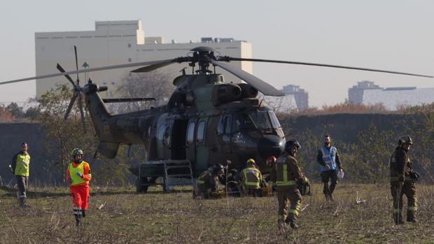 ¿Sabe reaccionar Sevilla ante un accidente de aeronave militar?
