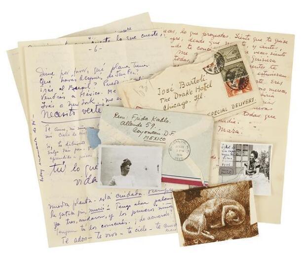 Las cartas de amor de Frida Kahlo a su amante español, vendidas por 128.000 euros