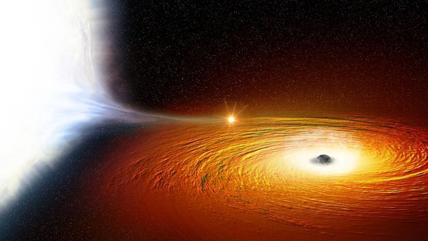 La estrella más cercana a un agujero negro jamás vista