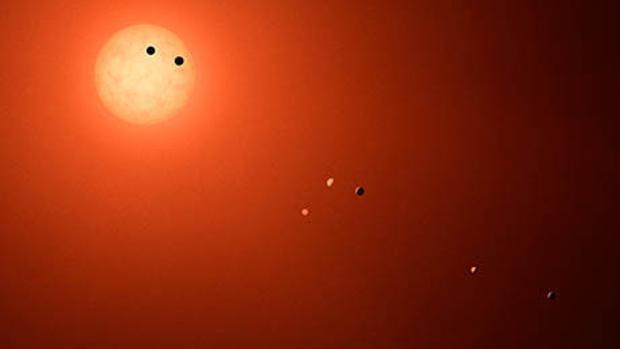 Solo uno de los siete planetas de Trappist-1 podría tener vida