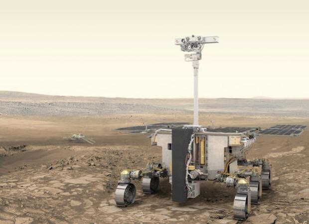 Europa ya casi sabe dónde posará en Marte el robot de la misión ExoMars