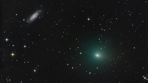 La NASA detecta el abrupto «frenazo» de un cometa