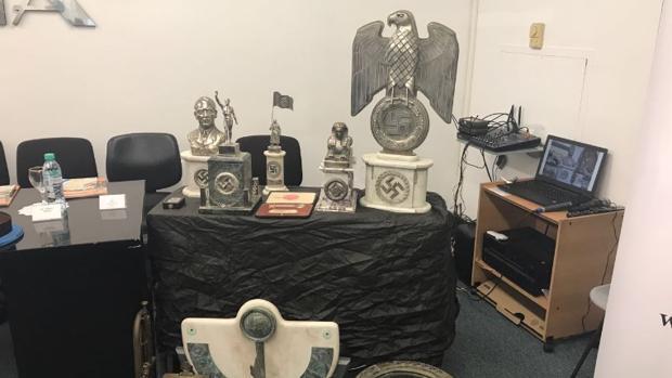 Descubren un tesoro nazi escondido en una habitación secreta en Argentina