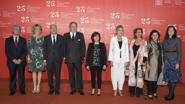 El Museo Thyssen festeja su primer cuarto de siglo de vida
