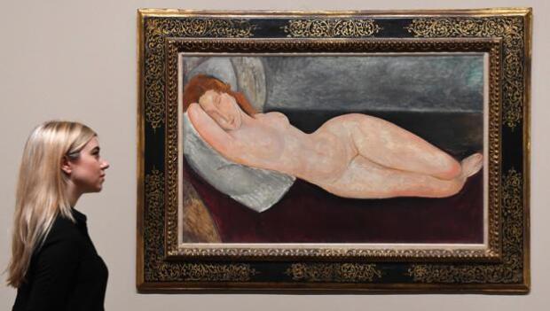 Londres se rinde ante Modigliani, el maestro de los desnudos