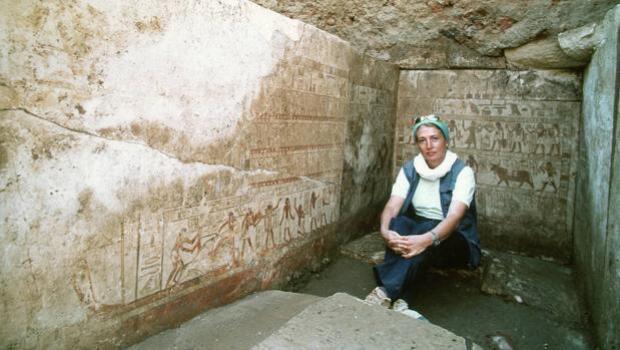 Españoles a la búsqueda de los faraones