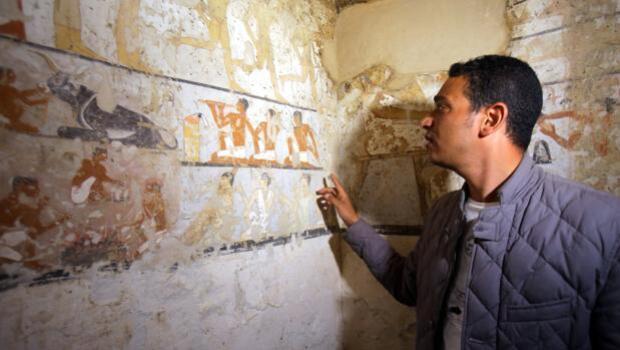 Descubren una tumba egipcia de hace 4.000 años, que pertenecía a una mujer que no era de la realeza