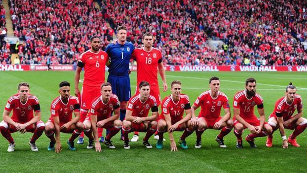La insólita foto de Gales