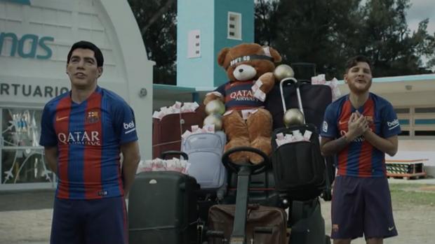 Martín Bossi, el humorista que escenifica la salida de Neymar del Barça