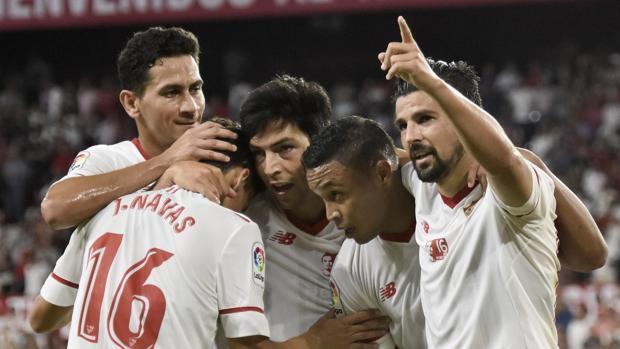 El Sevilla-Basaksehir empieza en las redes sociales