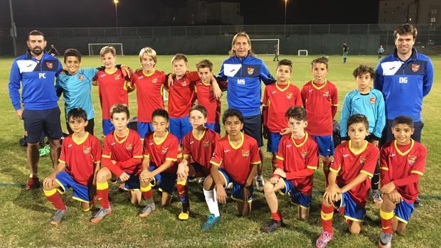 La academia de Míchel Salgado, estilo con sello español para desarrollar el fútbol en Dubái