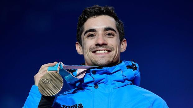 Javier Fernández, bronce olímpico