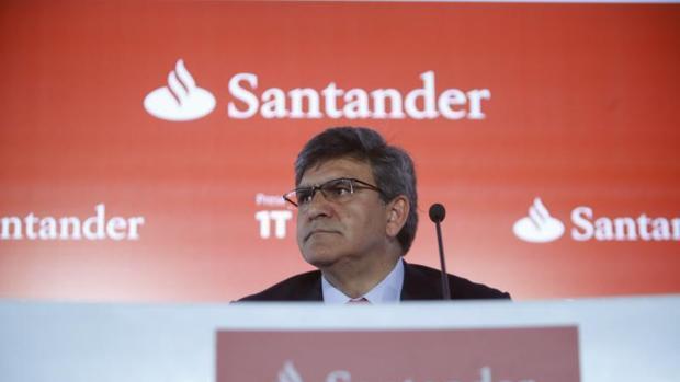 El Banco Santander gana 1.867 millones hasta marzo, un 14,3% más, y supera previsiones