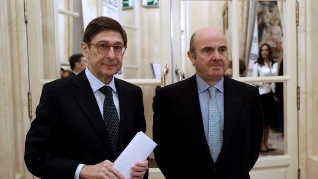 Goirigolzarri considera normalizada la situación del sector financiero en Cataluña