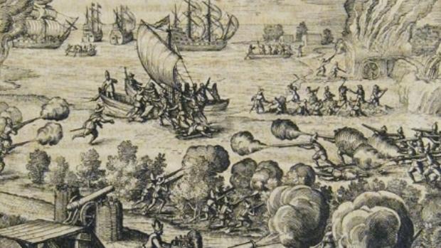 Las provocaciones del general Alonso Alvarado que cabreó a Van der Does en Canarias en 1599
