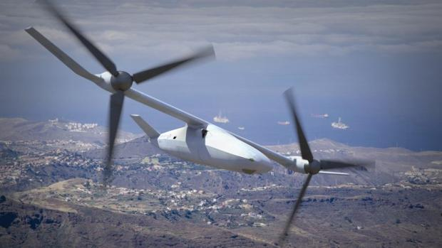 El nuevo dron del Pentágono probado en Canarias