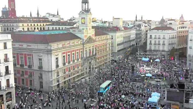 Crece el número de manifestaciones, pero tienen mucho menos seguimiento