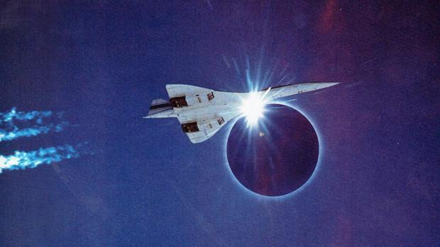 El histórico vuelo del Concorde persiguiendo un eclipse de Sol desde Canarias