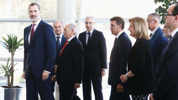 El Rey preside el 50 aniversario del centro tecnológico Aimen en O Porriño