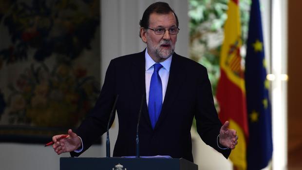 Rajoy:«Los terroristas nunca derrotarán a un pueblo unido que ama la libertad frente a la barbarie»