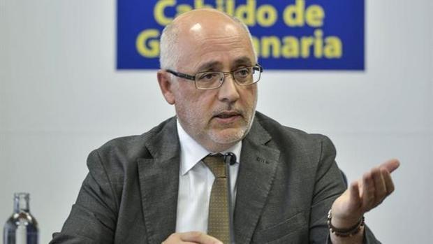 El presidente grancanario: «Tenerife no es ATI»