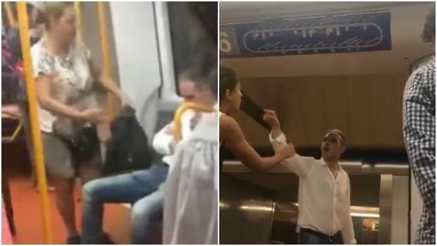 Detenido el neonazi del Metro que trató de echar a una mujer magrebí del vagón al grito de «¡Bájate, mora!»