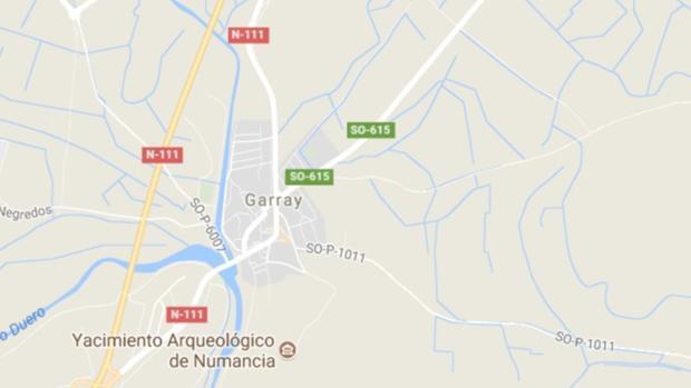 Sorprenden a un conductor a 222 kilómetros por hora en Garray (Soria)