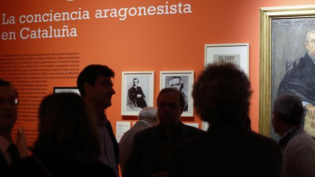 Una exposición desmonta en Zaragoza los mitos del independentismo catalán