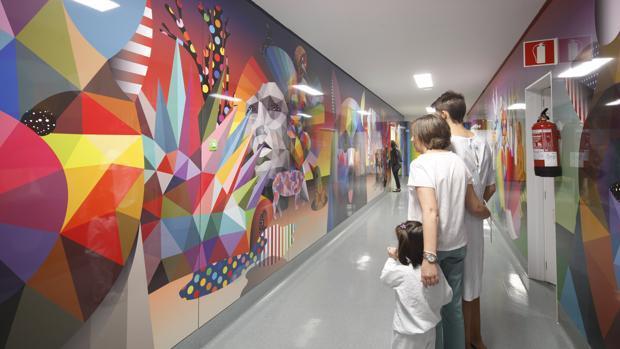 El arte urbano llega a Pediatría del Hospital Clínico San Carlos