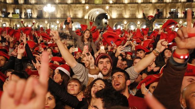 La Nochevieja Universitaria de Salamanca tendrá por primera vez dos escenarios