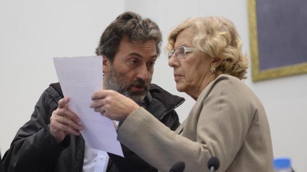 IU reta a Carmena: sus ediles no participarán en la votación del PEF
