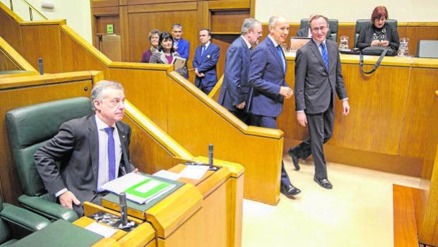 El PP facilita por segundo año consecutivo la aprobación de los Presupuestos vascos