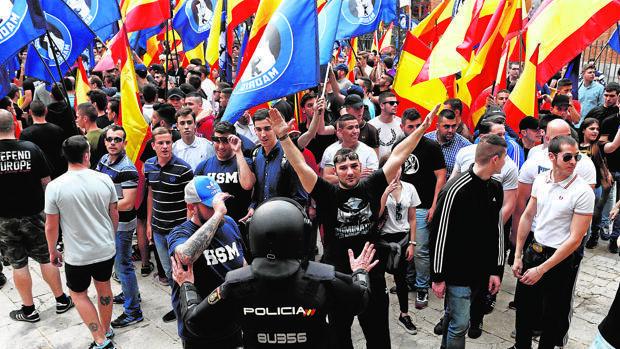 Delitos de odio: el 40% de las denuncias son de agresiones ideológicas ultras