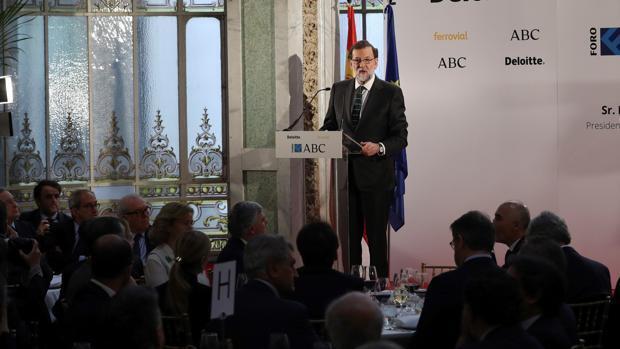 En directo: Mariano Rajoy en el Foro ABC