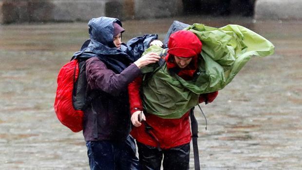 Galicia, en alerta con rachas de viento de hasta 140 kilómetros hora