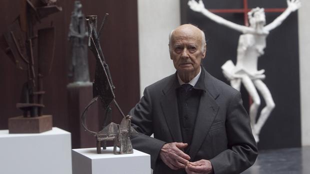 Muere el escultor salmantino Venancio Blanco