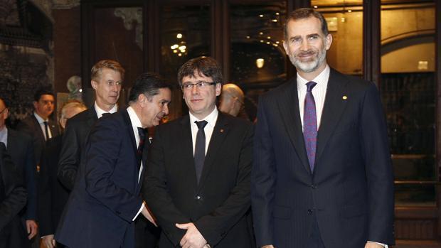 Los líderes secesionistas que plantarán al Rey en el MWC de Barcelona